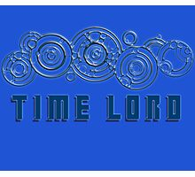 Time Lord  - Doctor Who themed with Gallifrey symbols Shirt Photographic Print
