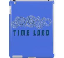 Time Lord  - Doctor Who themed with Gallifrey symbols Shirt iPad Case/Skin