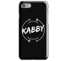 KABBY DEFENSE SQUAD iPhone Case/Skin
