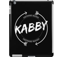 KABBY DEFENSE SQUAD iPad Case/Skin