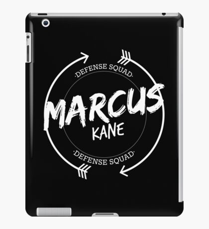 MARCUS KANE DEFENSE SQUAD iPad Case/Skin