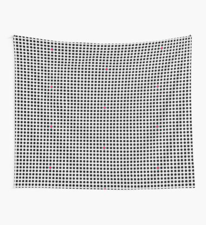 Grey & Red Tiling Tessellation Wall Tapestry