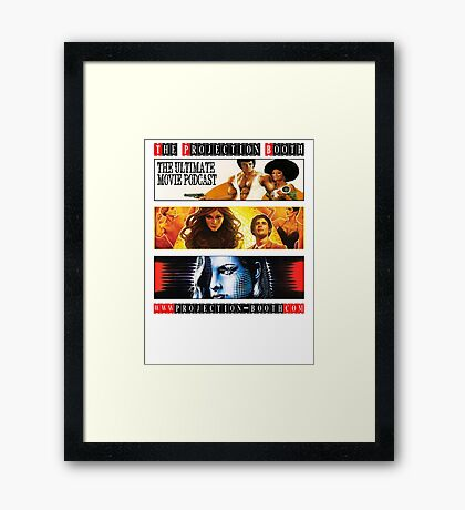 The Projection Booth Podcast Framed Print