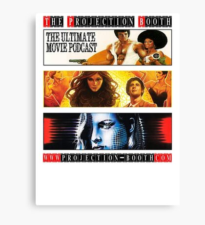 The Projection Booth Podcast Canvas Print