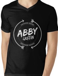 ABBY GRIFFIN DEFENSE SQUAD Mens V-Neck T-Shirt