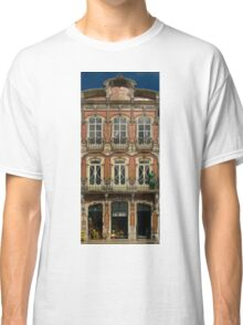 Art Nouveau facade Portugal Europe Classic T-Shirt