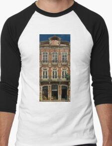 Art Nouveau facade Portugal Europe Men's Baseball ¾ T-Shirt