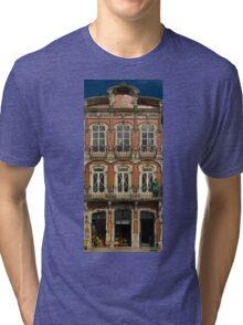 Art Nouveau facade Portugal Europe Tri-blend T-Shirt