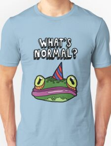 'What's Normal?' Ft. Froggy Unisex T-Shirt