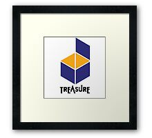 Treasure Logo Framed Print