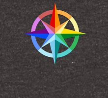 Rainbow Compass Rose Unisex T-Shirt