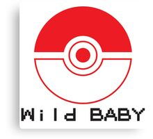 pokemon wild baby Canvas Print