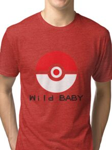 pokemon wild baby Tri-blend T-Shirt