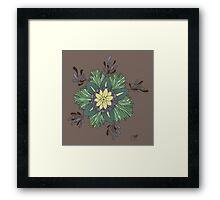 Sea Blossom Framed Print