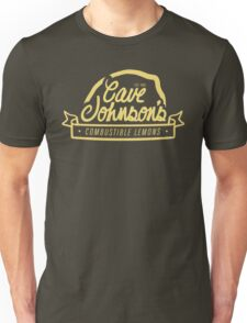 cave johnson's combustible lemons Unisex T-Shirt
