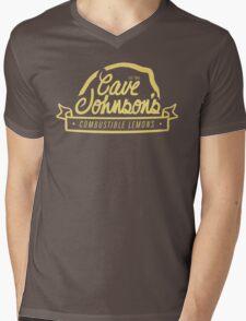 cave johnson's combustible lemons Mens V-Neck T-Shirt