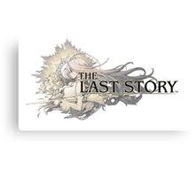 The Last Story Logo Canvas Print