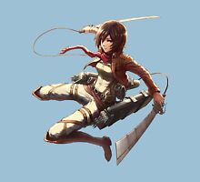 mikasa military design attack on titan Unisex T-Shirt