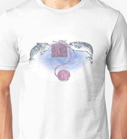 Narwhal Knitting Unisex T-Shirt