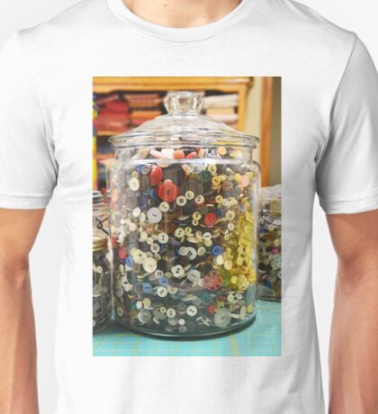 Button Jar Unisex T-Shirt