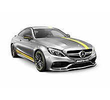 Mercedes‑AMG C 63 S luxury sports car art photo print Photographic Print