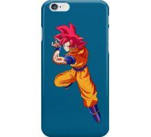 Goku ssj God iPhone Case/Skin