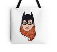 batgirl head Tote Bag