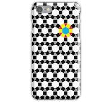 Black & White Tessellation Pattern iPhone Case/Skin