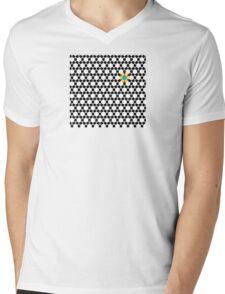 Black & White Tessellation Pattern T-Shirt
