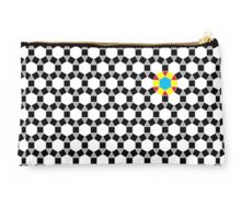 Black & White Tessellation Pattern Studio Pouch