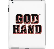 God Hand Logo iPad Case/Skin