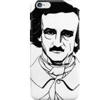 Edgar Allan Poe Illustration iPhone Case/Skin