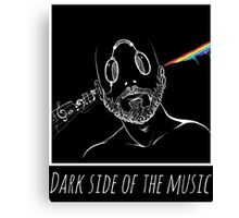 PINK FLOYD COVER : DARK SIDE OF THE MUSIC Canvas Print