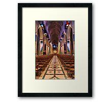 Washington National Cathedral Interior Framed Print