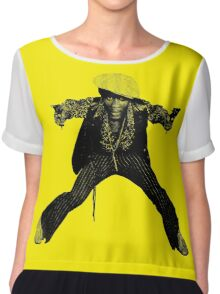 The Harder They Come Chiffon Top