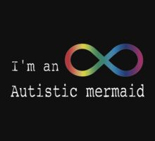 Autistic Mermaid Kids Tee