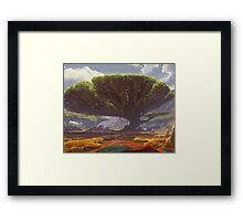 Enchanted oasis  Framed Print