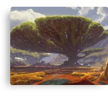 Enchanted oasis  Canvas Print