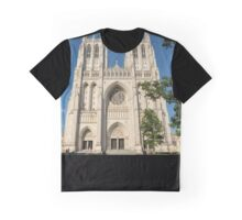 Washington National Cathedral Front Exterior Graphic T-Shirt
