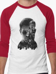 The Portrait of Hell's Kitchen Men's Baseball ¾ T-Shirt