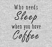 Who needs sleep? Pullover