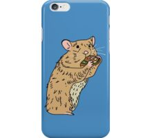 Hungry, Hungry Hamster iPhone Case/Skin