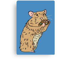 Hungry, Hungry Hamster Canvas Print