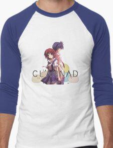 Nagisa and Tomoya - Clannad Men's Baseball ¾ T-Shirt
