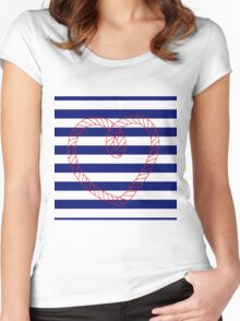 Ahoy me hearty! Women's Fitted Scoop T-Shirt