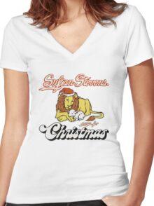 Sufjan Stevens Women's Fitted V-Neck T-Shirt