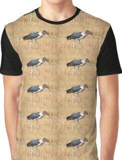 Marabou Stork, Leptoptilos crumeniferus, Kenya Graphic T-Shirt