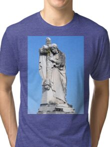 I will cling to the old rugged cross Tri-blend T-Shirt