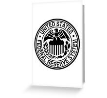 Federal Reserve System Logo Greeting Card