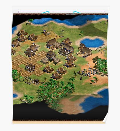 Age of Empires 2 In-Game Poster